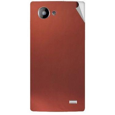 Snooky 43223 Mobile Skin Sticker For Intex Aqua HD - Copper