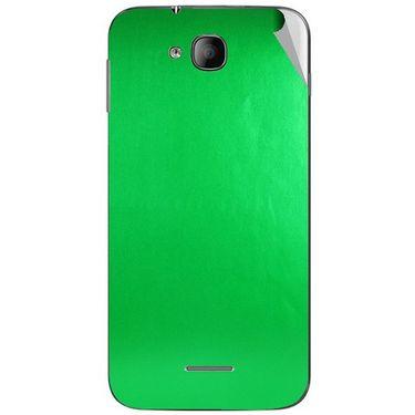 Snooky 43252 Mobile Skin Sticker For Intex Aqua i4 - Green