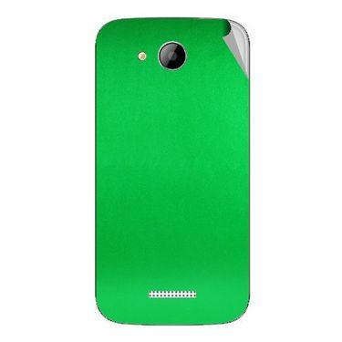 Snooky 43264 Mobile Skin Sticker For Intex Aqua i5 - Green