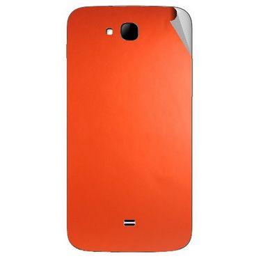 Snooky 43298 Mobile Skin Sticker For Intex Aqua i15 - Orange