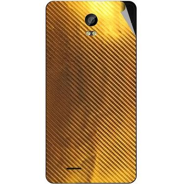 Snooky 43305 Mobile Skin Sticker For Intex Aqua Life 2 - Golden