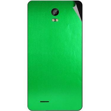 Snooky 43312 Mobile Skin Sticker For Intex Aqua Life 2 - Green