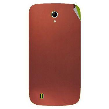 Snooky 43331 Mobile Skin Sticker For Intex Aqua N4 - Copper
