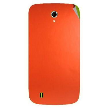 Snooky 43334 Mobile Skin Sticker For Intex Aqua N4 - Orange