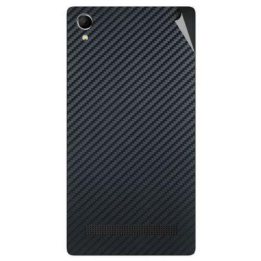 Snooky 43387 Mobile Skin Sticker For Intex Aqua Power Plus - Black