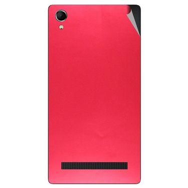 Snooky 43390 Mobile Skin Sticker For Intex Aqua Power Plus - Red