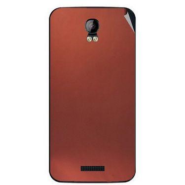 Snooky 43403 Mobile Skin Sticker For Intex Aqua Q1 - Copper
