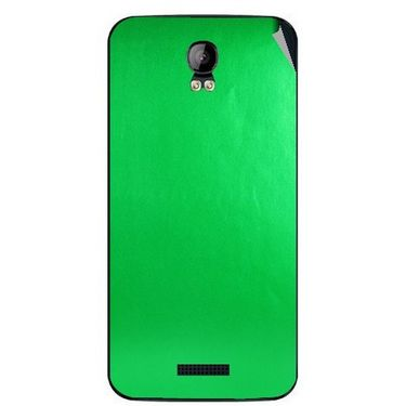 Snooky 43408 Mobile Skin Sticker For Intex Aqua Q1 - Green