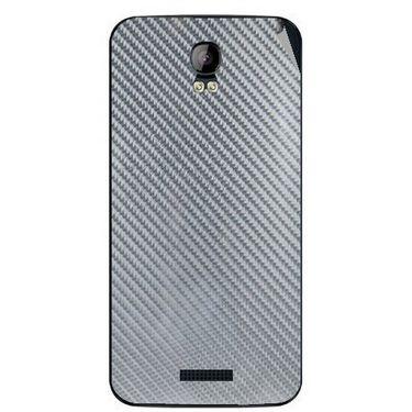 Snooky 43410 Mobile Skin Sticker For Intex Aqua Q1 - silver