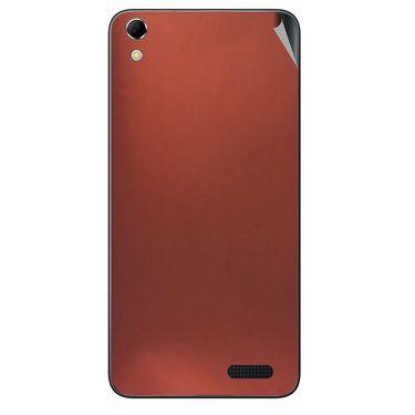 Snooky 43415 Mobile Skin Sticker For Intex Aqua Q3 - Copper