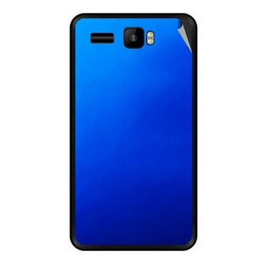 Snooky 43424 Mobile Skin Sticker For Intex Aqua R3 - Blue