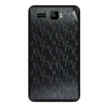 Snooky 43428 Mobile Skin Sticker For Intex Aqua R3 - Black