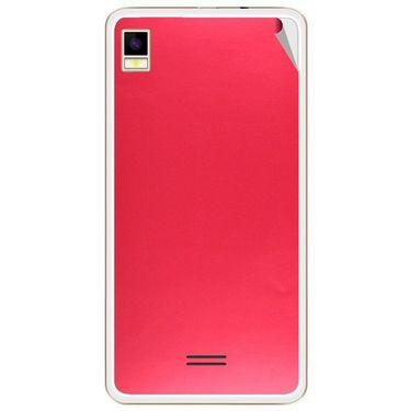 Snooky 43450 Mobile Skin Sticker For Intex Aqua Star 5.0 - Red