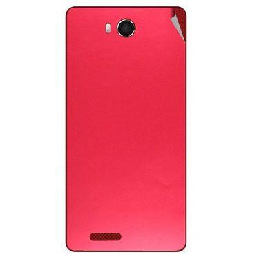 Snooky 43462 Mobile Skin Sticker For Intex Aqua Star Hd - Red