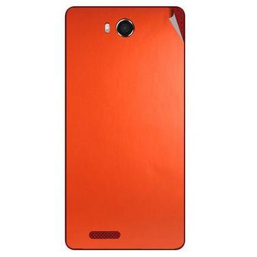 Snooky 43466 Mobile Skin Sticker For Intex Aqua Star Hd - Orange