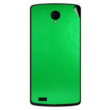 Snooky 43480 Mobile Skin Sticker For Intex Aqua Star Power - Green