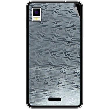 Snooky 43493 Mobile Skin Sticker For Intex Aqua Style - silver