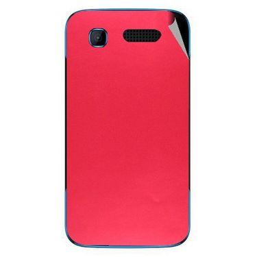 Snooky 43522 Mobile Skin Sticker For Intex Aqua T3 - Red