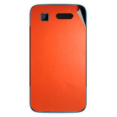 Snooky 43526 Mobile Skin Sticker For Intex Aqua T3 - Orange
