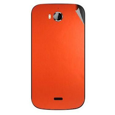 Snooky 43538 Mobile Skin Sticker For Intex Aqua Wonder - Orange