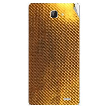 Snooky 43605 Mobile Skin Sticker For Intex Aqua I5 Hd - Golden