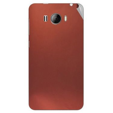Snooky 43619 Mobile Skin Sticker For Intex Aqua N15 - Copper