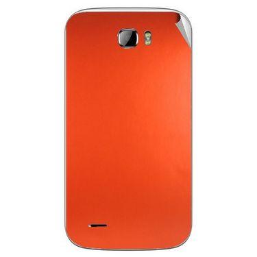 Snooky 43682 Mobile Skin Sticker For Intex Cloud Z5 - Orange