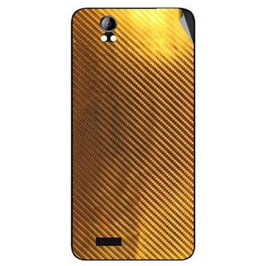 Snooky 43689 Mobile Skin Sticker For Intex Aqua Style Pro - Golden