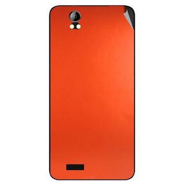 Snooky 43694 Mobile Skin Sticker For Intex Aqua Style Pro - Orange