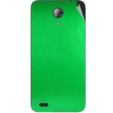 Snooky 43708 Mobile Skin Sticker For Intex Aqua Style Mini - Green