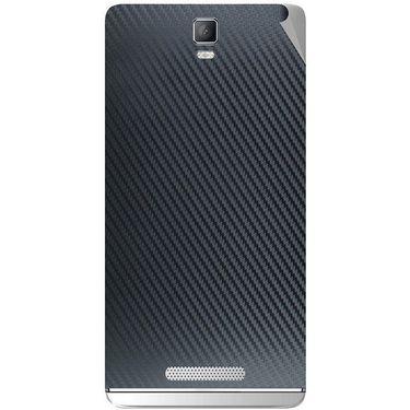 Snooky 43711 Mobile Skin Sticker For Lava Iris Fuel 50 - Black