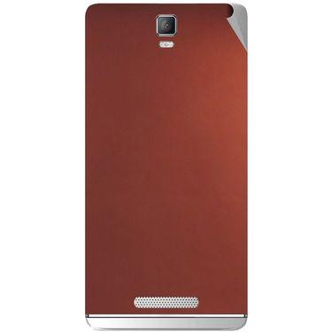 Snooky 43715 Mobile Skin Sticker For Lava Iris Fuel 50 - Copper