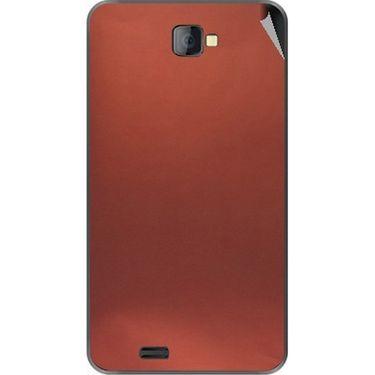 Snooky 43763 Mobile Skin Sticker For Lava Iris 502 - Copper