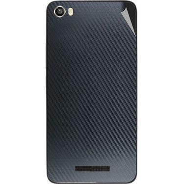 Snooky 43819 Mobile Skin Sticker For Lava Iris X8 - Black
