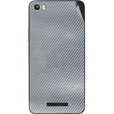 Snooky 43830 Mobile Skin Sticker For Lava Iris X8 - silver