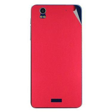 Snooky 43870 Mobile Skin Sticker For Lava Iris Pro 20 - Red