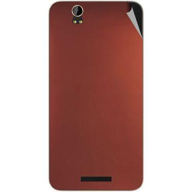 Snooky 43883 Mobile Skin Sticker For Lava Iris X1 - Copper