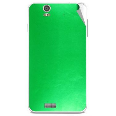 Snooky 43900 Mobile Skin Sticker For Lava Iris X5 - Green