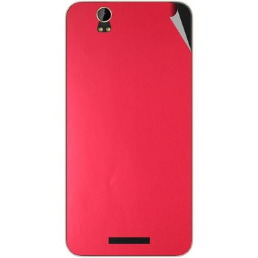 Snooky 43906 Mobile Skin Sticker For Lava Iris X1 Grand - Red
