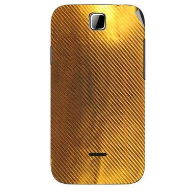 Snooky 43929 Mobile Skin Sticker For Micromax Ninja 3.5 A54 - Golden