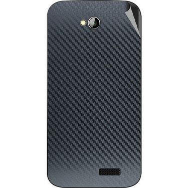 Snooky 43963 Mobile Skin Sticker For Micromax Bolt A089 - Black