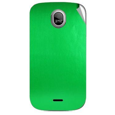 Snooky 43984 Mobile Skin Sticker For Micromax Ninja A89 - Green