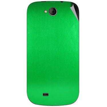 Snooky 44044 Mobile Skin Sticker For Micromax Canvas Elanza A93 - Green