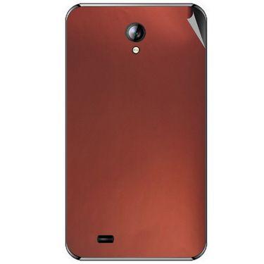 Snooky 44087 Mobile Skin Sticker For Micromax Superfone A101 - Copper