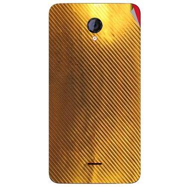 Snooky 44133 Mobile Skin Sticker For Micromax Canvas Unite 2 A106 - Golden