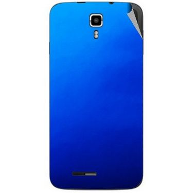 Snooky 44228 Mobile Skin Sticker For Micromax Canvas Juice A177 - Blue