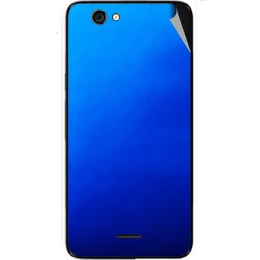 Snooky 44276 Mobile Skin Sticker For Micromax Canvas knight cameo A290 - Blue
