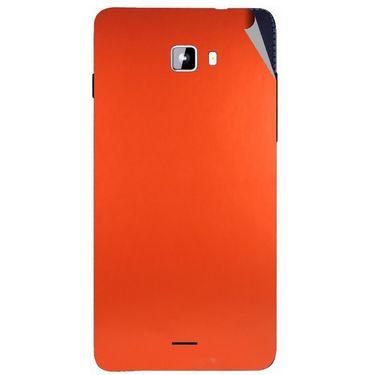 Snooky 44318 Mobile Skin Sticker For Micromax Canvas Nitro A311 - Orange