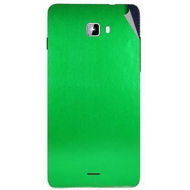Snooky 44320 Mobile Skin Sticker For Micromax Canvas Nitro A311 - Green