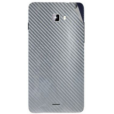 Snooky 44322 Mobile Skin Sticker For Micromax Canvas Nitro A311 - silver